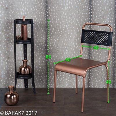 Bistro stoel koper