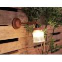 Industriële wandlamp bokaal